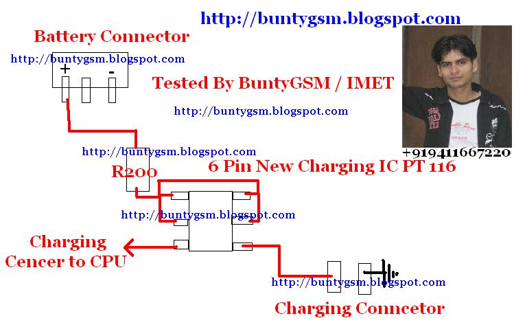 IMI Mobile Repairing Institute: New China Charging IC